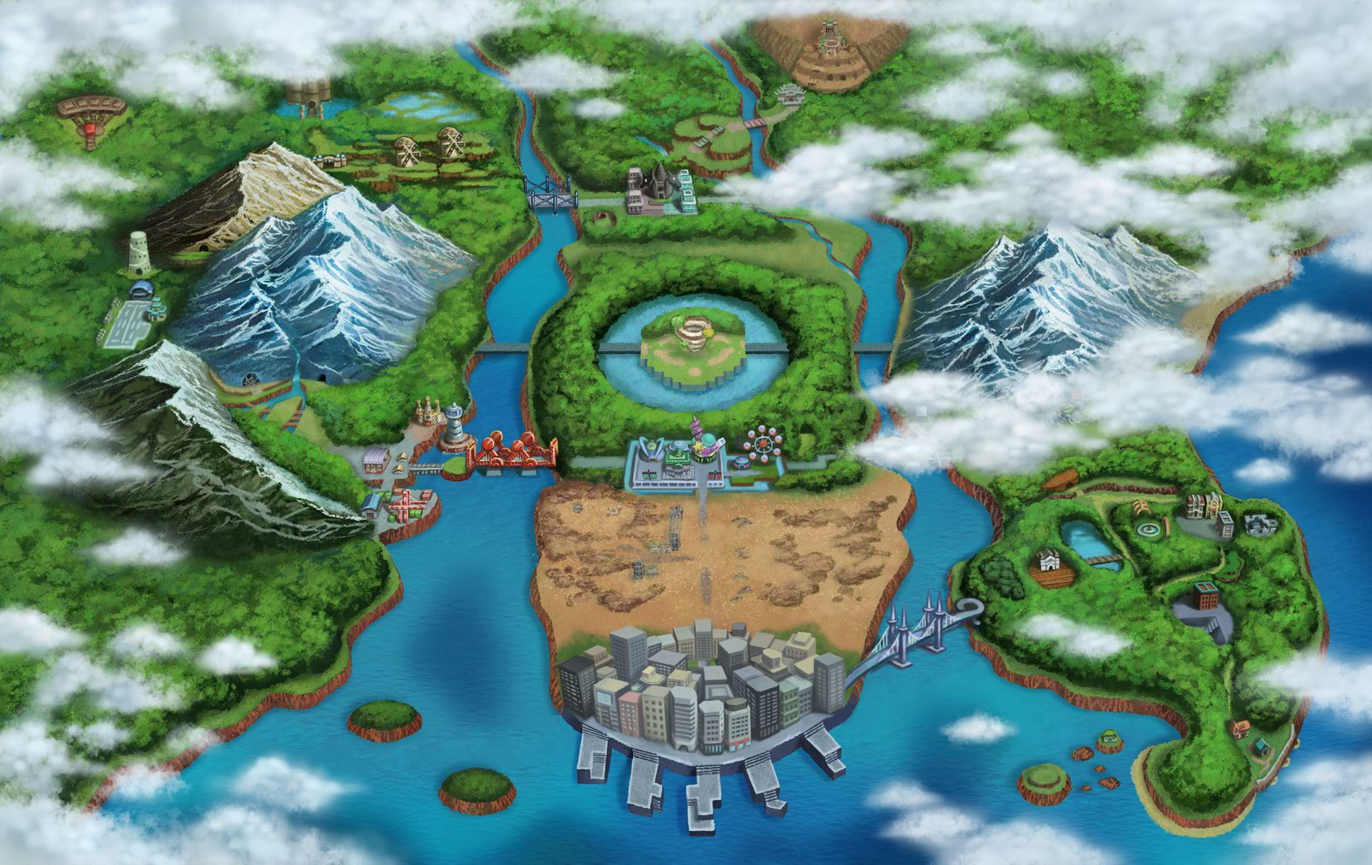 Unova is able to live in extreme wealth and extravagance ...