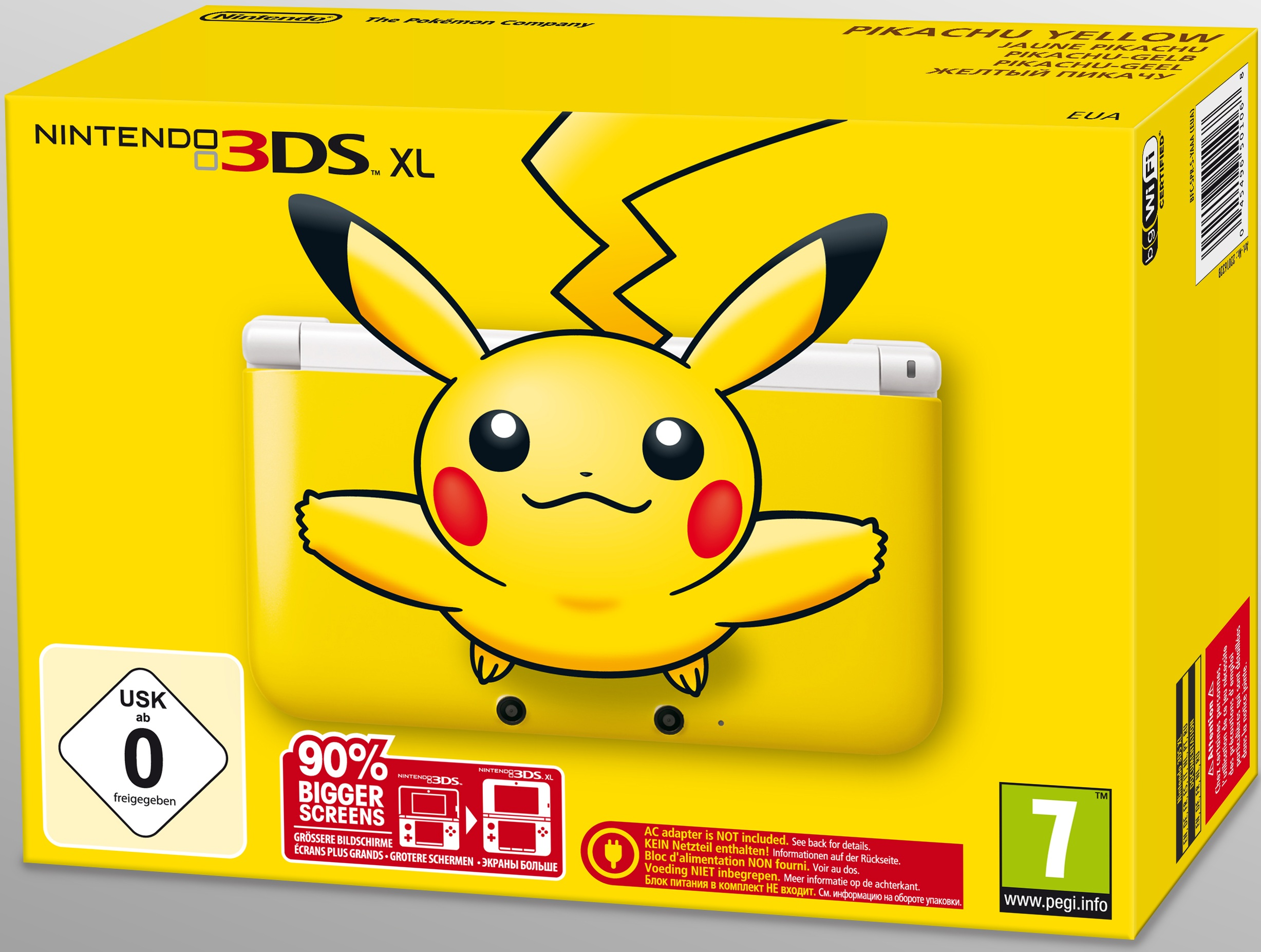 Legendary pok mon pikachu 3ds xl confirmed for north america for Housse 3ds pokemon